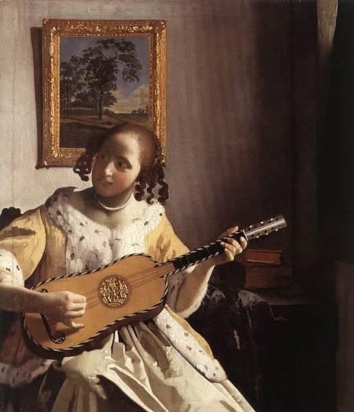 Vermeer The Guitar Player
